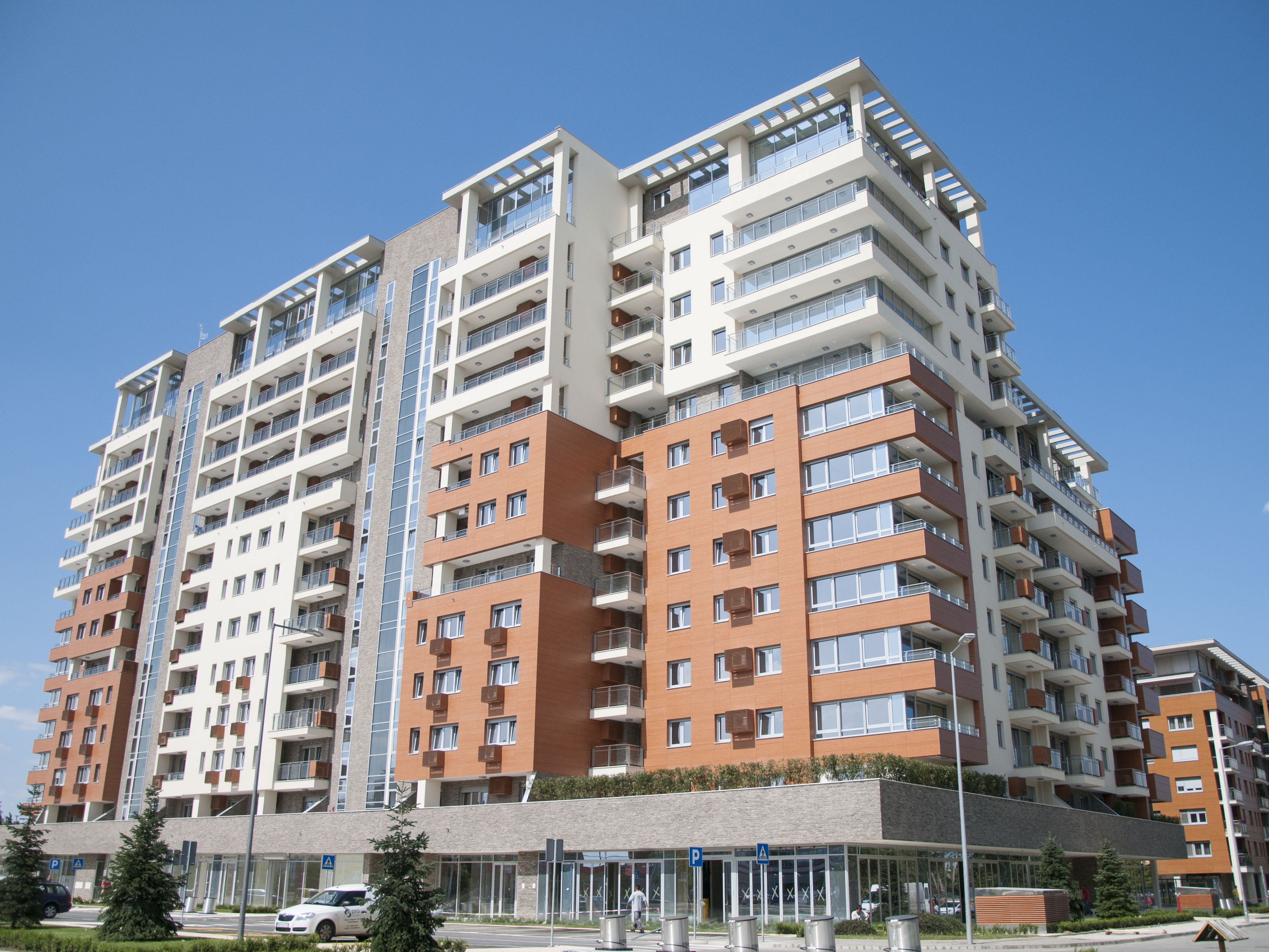 Completed works on A-Block III phase