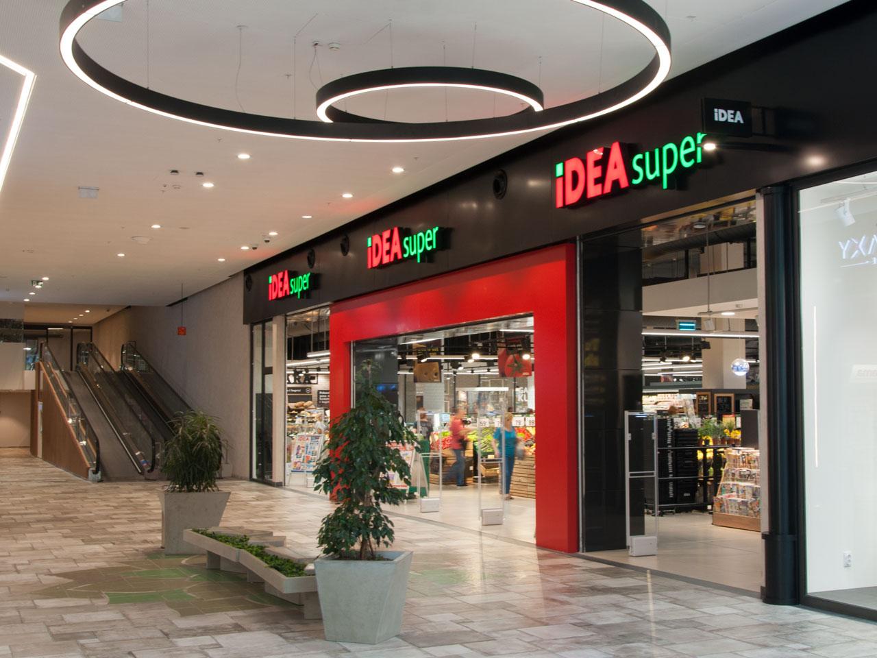 New IDEA SUPER opened in the Big Fashion Center - Karaburma