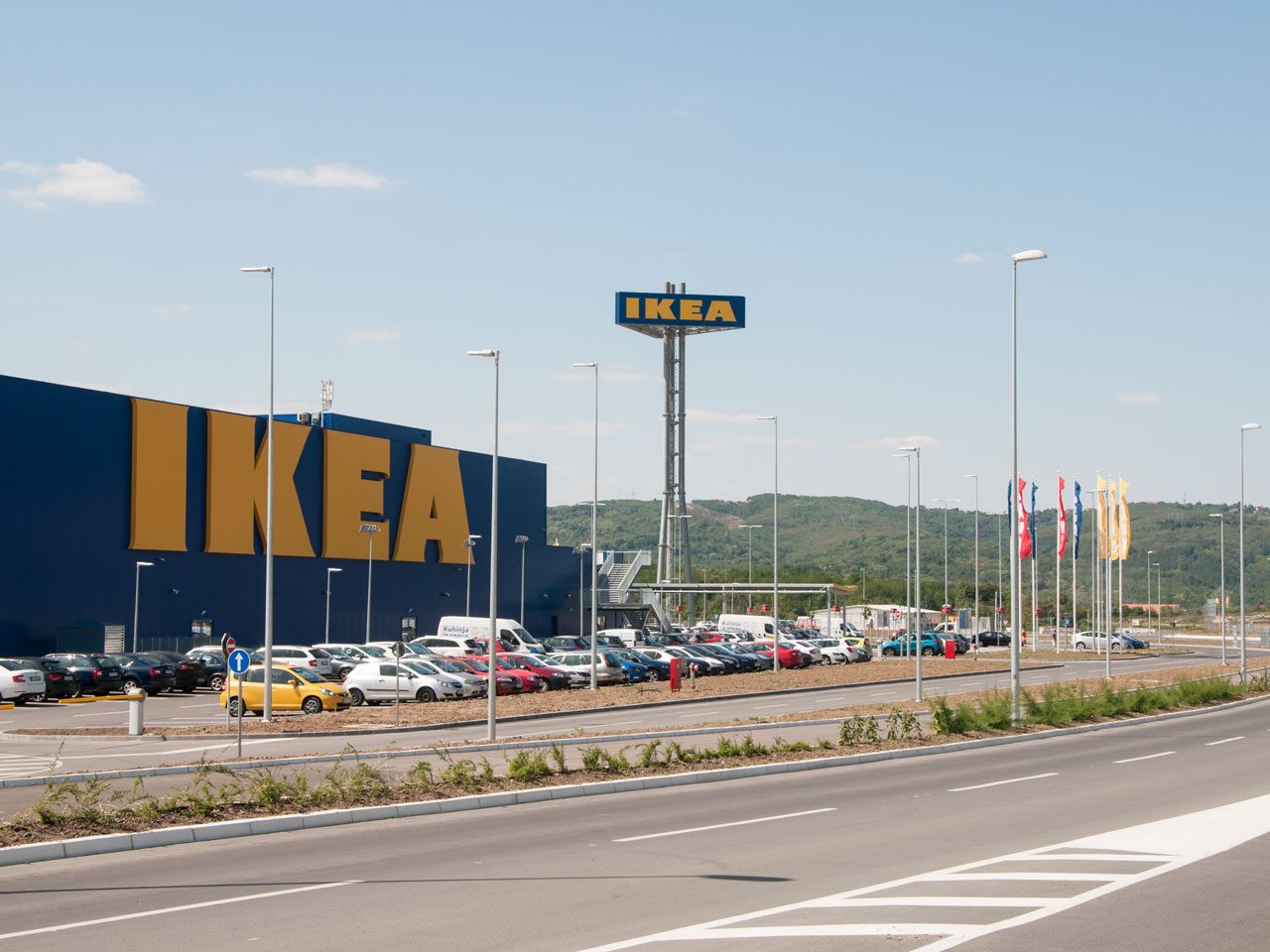 IKEA department store opened