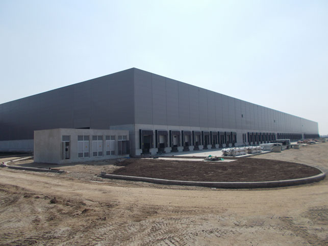 We are finishing the works on DC Delhaize in Stara Pazova