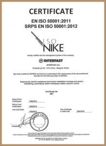ISO 50001:2012 – uveden 2015
