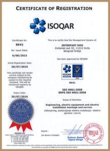 ISO 9001:2015 – uveden 2010. godine